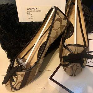 Coach Janelle Flats - Size 7